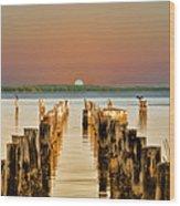 Sunshine State Sunset Wood Print