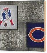 Super Bowl 20 Wood Print