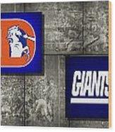 Super Bowl 21 Wood Print