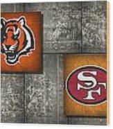 Super Bowl 23 Wood Print