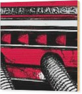 Super-charged Duesenberg Wood Print