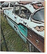 Super Chevy II Wood Print