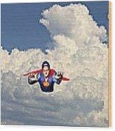 Super David Wood Print