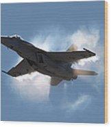 Super Hornet Shockwave Wood Print