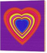 Super Love Wood Print
