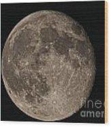 Super Moon 3626 August 2014 Wood Print