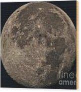 Super Moon 3628 August 2014 Wood Print