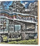 Super Slide Wood Print