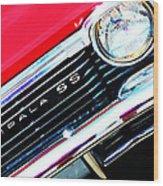 Super Sport 2 - Chevy Impala Classic Car Wood Print