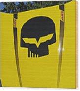 Superhero Carhod Wood Print