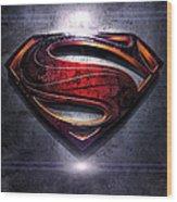 Superman Series 05 Wood Print