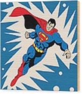 Superman 8 Wood Print