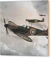 Supermarine Spitfire Mk I Wood Print