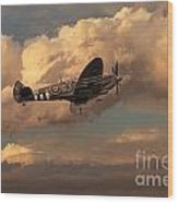Supermarine Spitfire Mk Lfix  Wood Print
