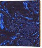 Supernatural Water Element Wood Print