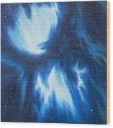 Supernova Explosion Wood Print