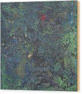 Supernova Number Four  Wood Print
