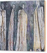 Supplication Wood Print by Nancy Smith