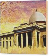 Supreme Court Karachi Wood Print by Catf