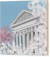 Supreme Court Washington Dc Wood Print