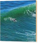 Surf 1 Take Off Wood Print