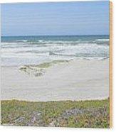 Surf Beach Lompoc California 4 Wood Print