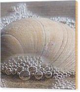 Surf Bubbles Wood Print