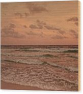 Surf - Florida Wood Print by Sandy Keeton