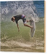 Surfer 9222013 Wood Print