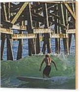 Surfer Dude 3 Wood Print