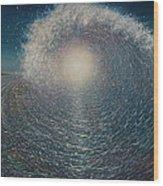 Surfers Dream Wood Print
