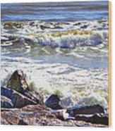 Surfside Jetty Wood Print