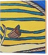Surgeonfish Wood Print