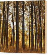 Surreal Autumn Wood Print