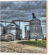 Surreal Grain Wood Print