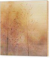 Surreal Grass Wood Print
