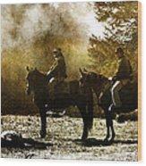 Surveying War's Fallen D0396 Wood Print