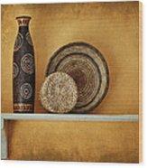 Susan's Shelf - Still Life Wood Print