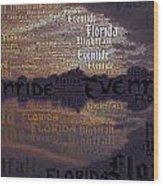 Suset Vs Nightstorm  Wood Print
