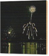Susquehanna 4th Of July Spectacle Wood Print