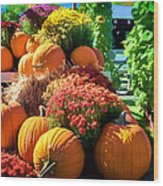 Sussex County Farm Stand Wood Print