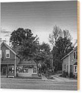 Sutton's Bay Shops Wood Print