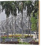 Suvarnabhumi International Airport In Bangkok Wood Print
