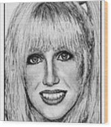 Suzanne Somers In 1977 Wood Print