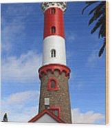 Swakopmund Lighthouse Wood Print