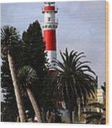 Swakopmund Lighthouse - Namibia Wood Print
