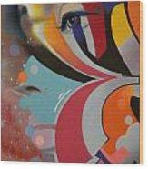 Swallowed Rainbow Wood Print