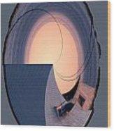 Swallowtail Lighthouse Fantash Wood Print