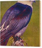 Swallowtail Pose Wood Print