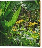 Swamp Bouquet Wood Print